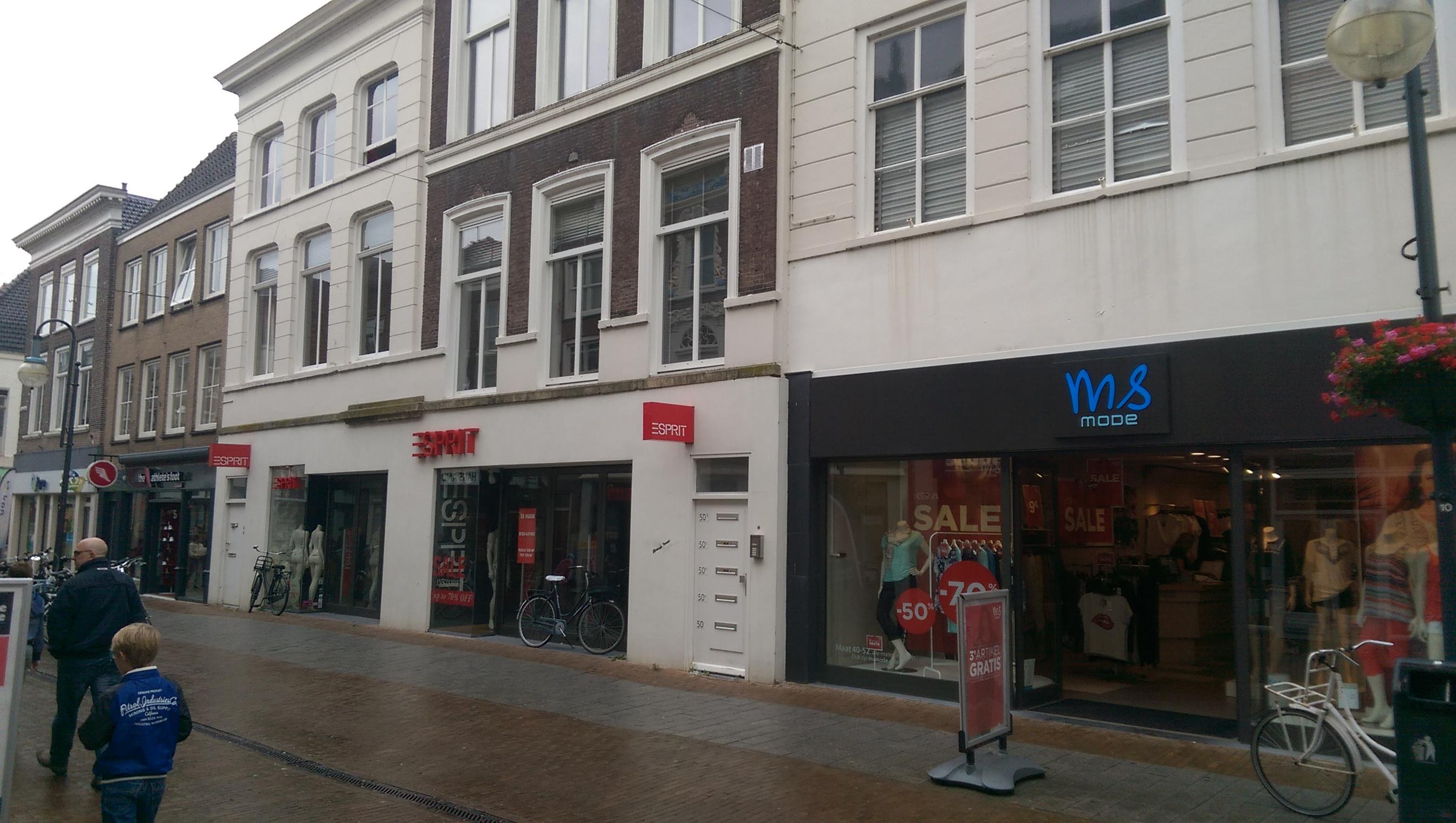 Twee studio's te huur in Gorinchem-centrum